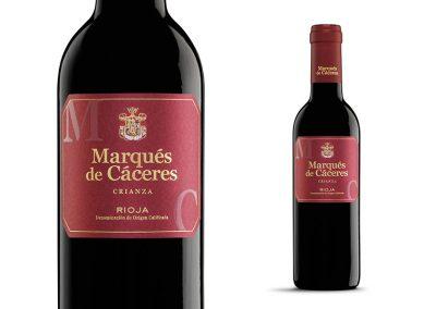 Marqués de Cáceres Crianza 37,5