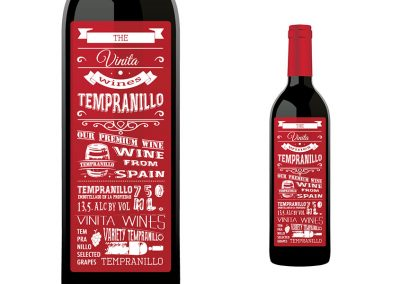 Vinita Tempranillo Red Wine