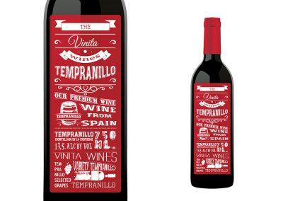 Vinita Tempranillo Red Wine